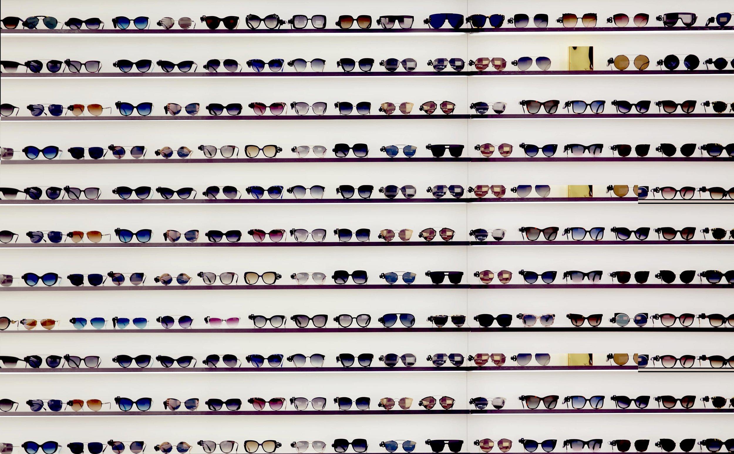 Wide range of sunclasses
