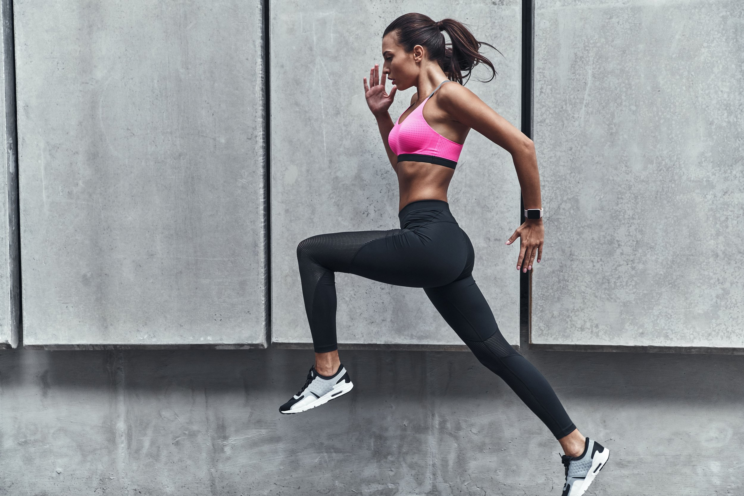 Female sportswear for running