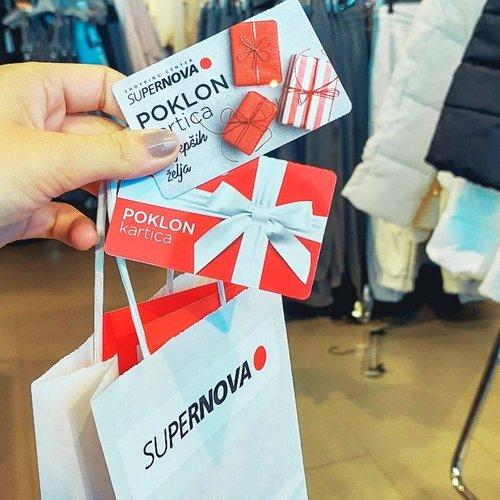 Neodoljiva kombinacija super shoppinga i poklona po svačijoj mjeri 😍😍 . . #shopping #supernovahrvatska #gift #giftcards...
